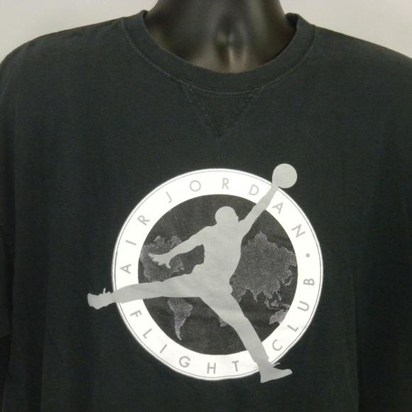 e43ca350 Nike Shirts | Air Jordan Xl Jumpman Flight Club Tshirt | Poshmark